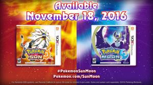 ¡Sale Pokémon Sol y Pokémon Luna!