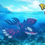 Kyogre ha sido liberado en Pokémon GO