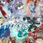 Se anuncian distribuciones de Pokémon Legendarios todo el año