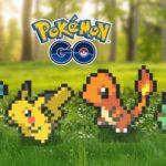 Pokémon GO reemplaza gráficos del juego con sprites de 8 bits