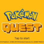 Fecha de Pokémon Quest anunciado para móviles