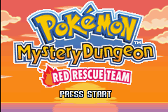 Pokémon Mistery Dungeon: Red / Blue Rescue Team