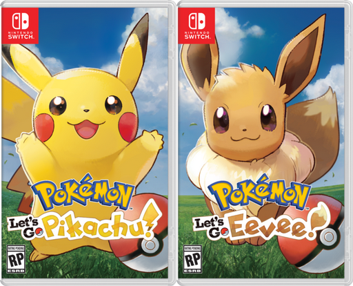 Pokémon: Let's Go, Pikachu! y Let's Go, Eevee!